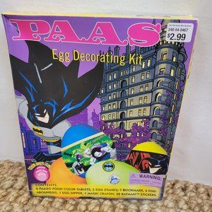 Batman Easter Egg Decorating Kit with Coloring